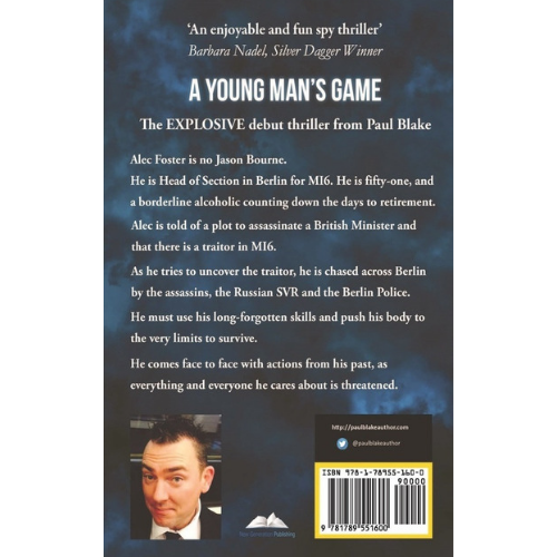 A Young Man's Game Back Cover