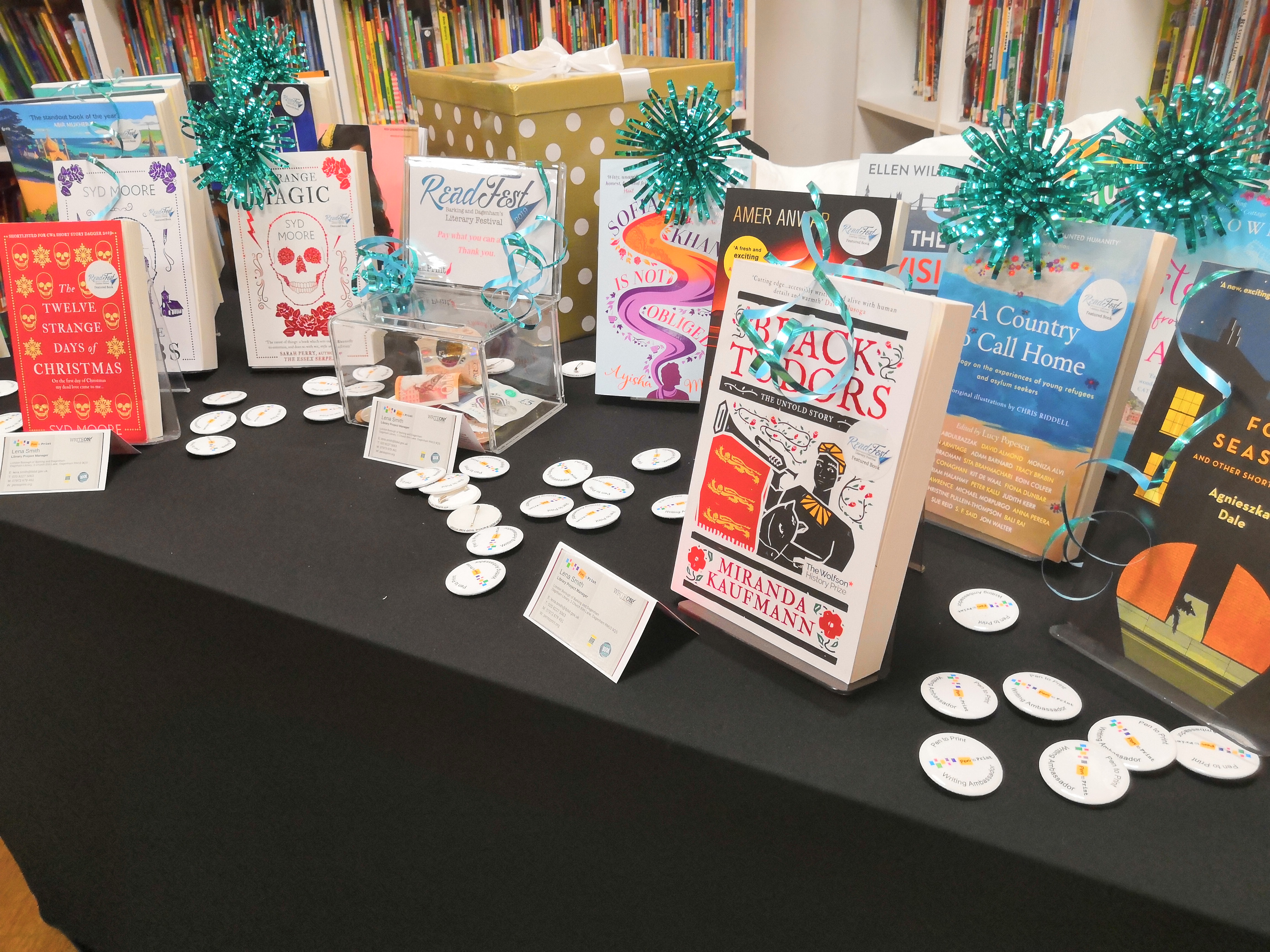 ReadFest 2019 Books